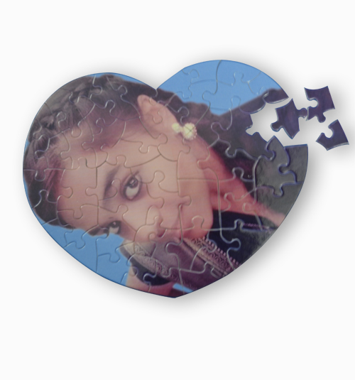 Custom Heart Shape Puzzle
