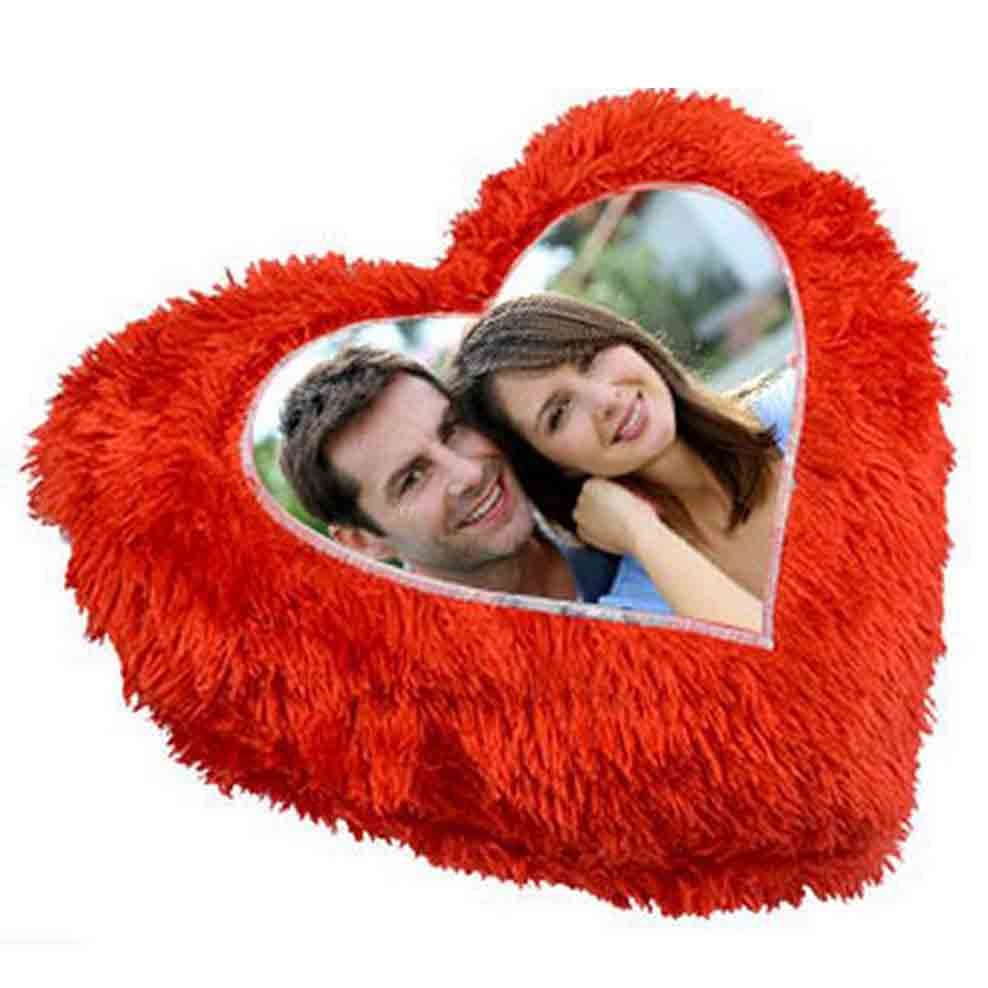 Custom Heart shape pillow